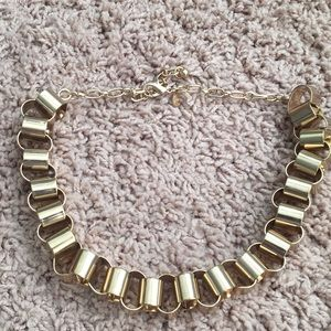 Express gold-plated necklace